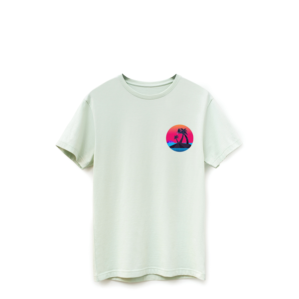 """ Be The Flow"" Seafoam Gloaming Tee"
