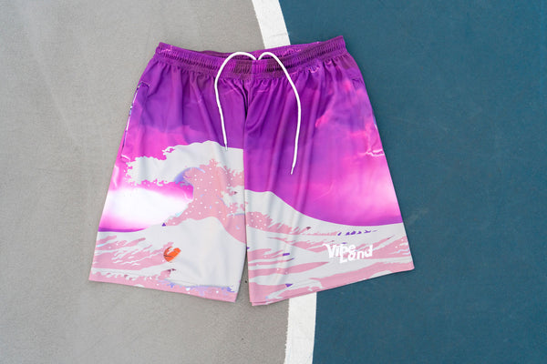 """ Be The Flow"" Athletic Shorts"