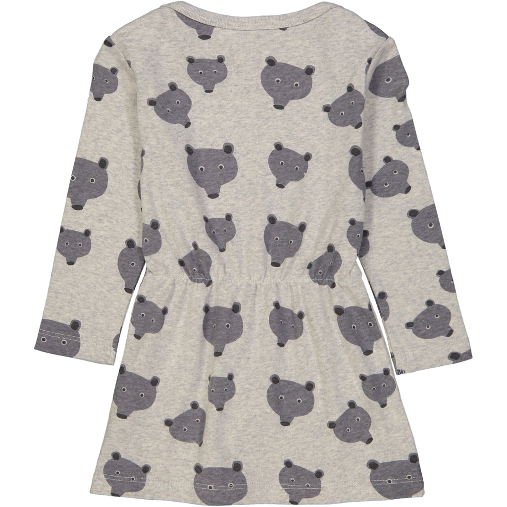 KELOWNA Tootsa Tots Jersey LS Dress/Light Heather Grey