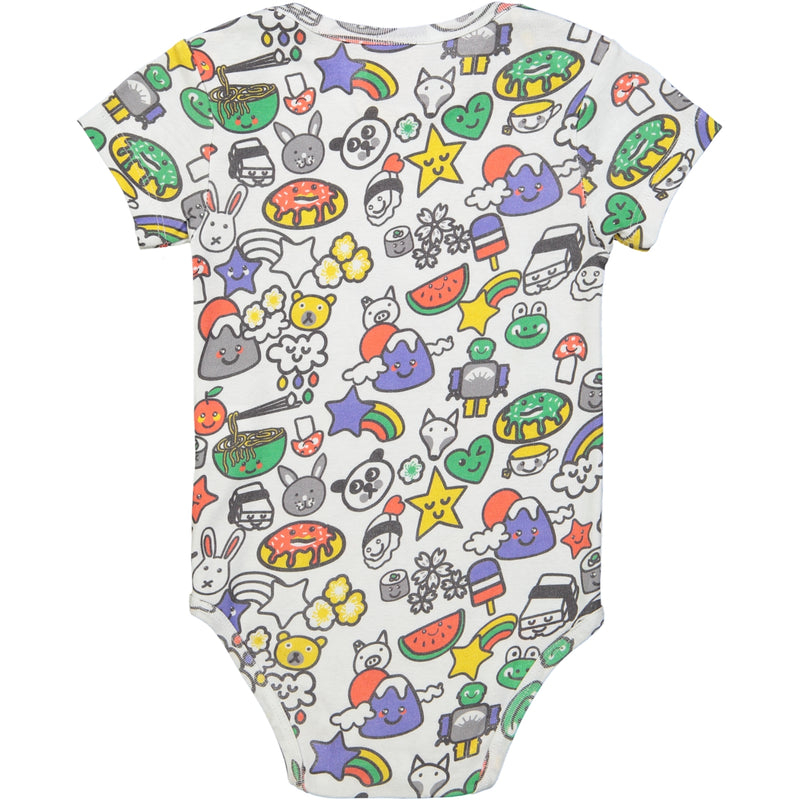 TOTO All over printed Tootsa Tots body/White