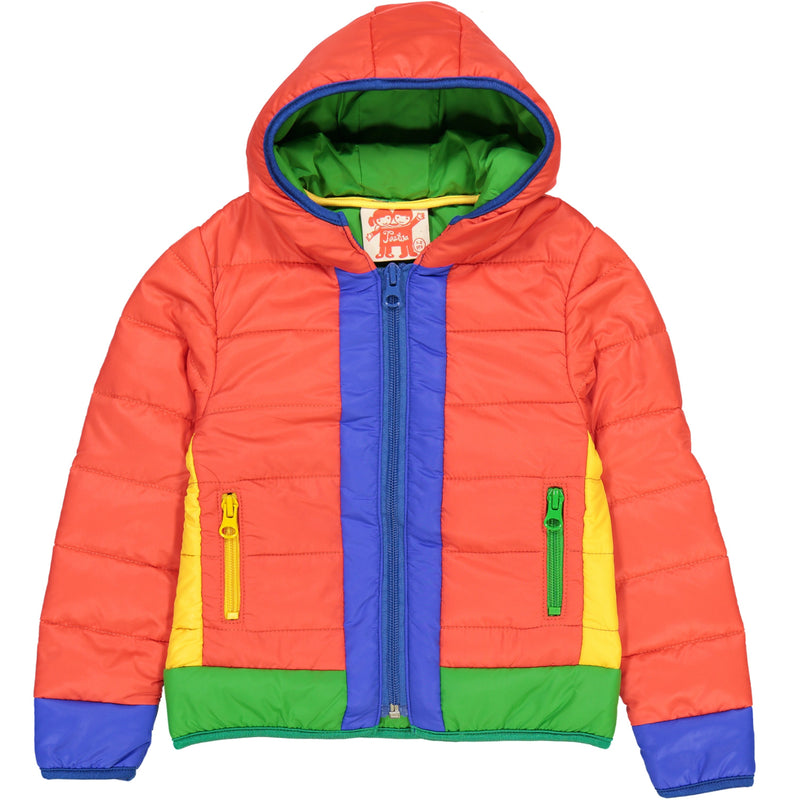 TOOTSA CLASSIC AASGARD Packaway Puffa Jacket/Bright Red