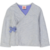 KIMONO Tots Linen & Cotton Quilted Jacket/Periwinkle
