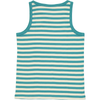 pack of striped Organic Cotton vest tops