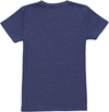 ANTOPHILA Organic Cotton Printed T-Shirt/Blue Marl