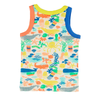 TRESTLES Organic Cotton Printed Vest Top/Multicoloured (Under The Sea)