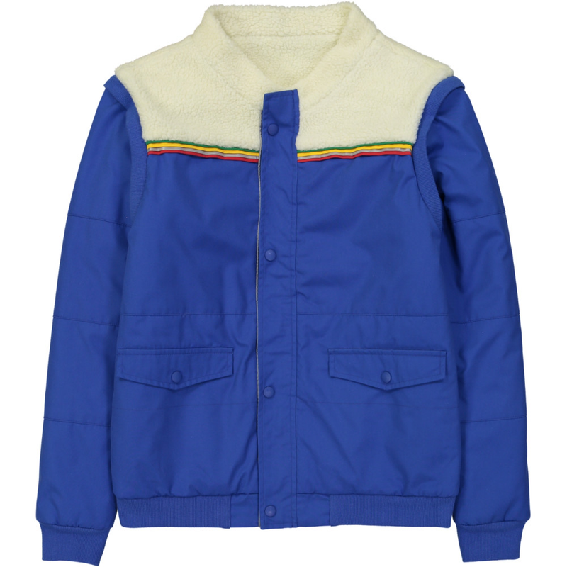 TOOTSA CLASSIC ESK Adult sized 3 way padded reversible jacket / Bright Blue