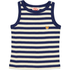 ESSENTIAL Baby Unisex Organic Cotton Vest tops (Pack of 2)/Sun, Navy