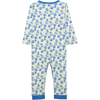 POKETTO All over printed Tootsa Tots romper/Bright Blue