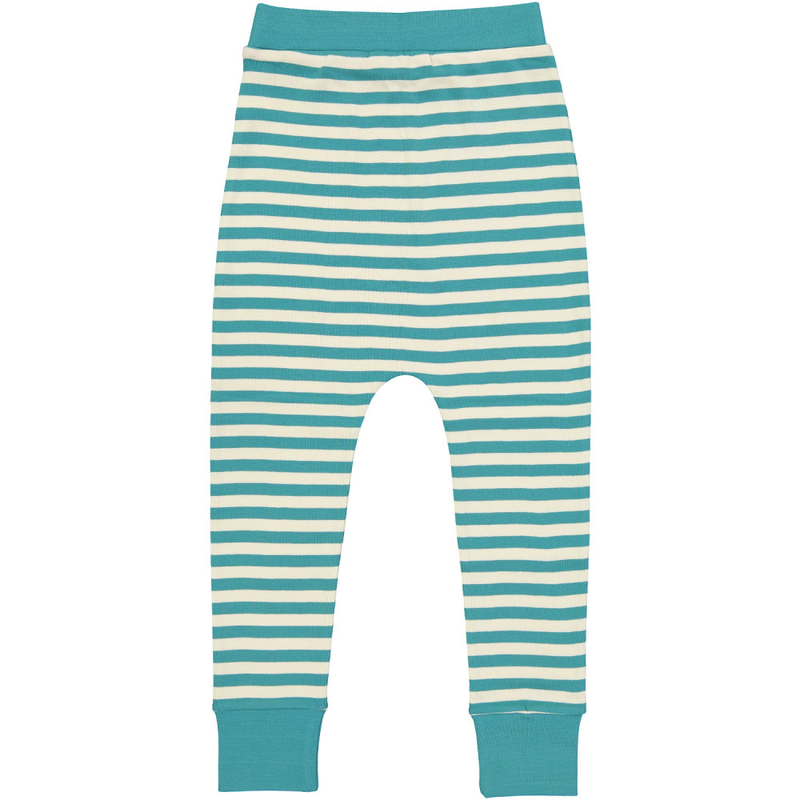 ESSENTIAL Kids Organic Cotton Harem Leggings (Pack of 2)/Bright Red, Teal