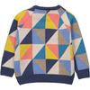 KASUMI Tootsa Tots Knit Jumper/Multicoloured (Triangles)