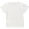 NIGIRI Baby Unisex 1x1 rib slim fit T-Shirt/Cream