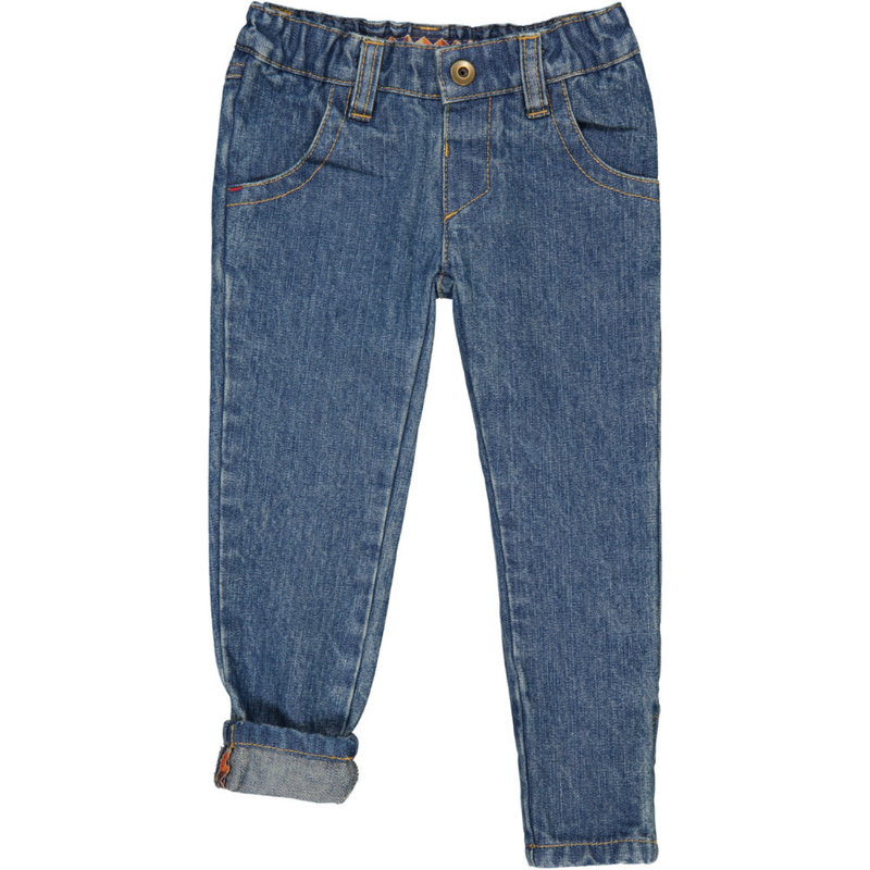 TOOTSA CLASSIC SLIM FIT JEANS/Washed Blue