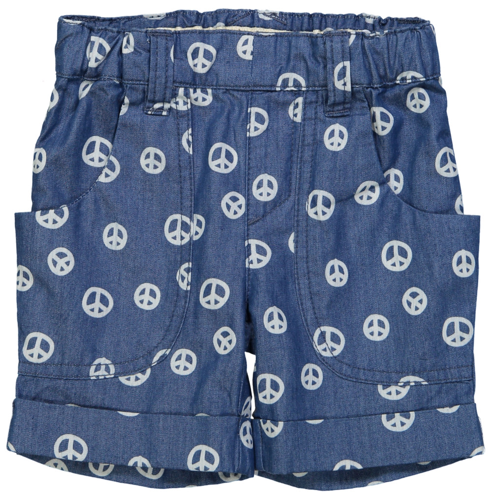 SHAKO Tootsa Tots shorts with removable bib/Ink