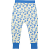 SASHIMI Bonded cotton harem pants/Bright Blue