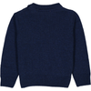 TOOTSA CLASSIC MORTIMERE Baby Unisex Jacquard Knit Jumper/Deep Blue