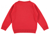 TOOTSA FOR CONRAN Christmas Jumper / Pomegranate Red (Snowman Robot)