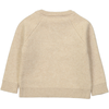 YUJO Knit & Embroidered Jumper/Cream (Peace & love)