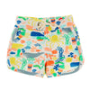 MALIBU Tots Organic Cotton Jersey Shorts/Multicoloured (Under The Sea)