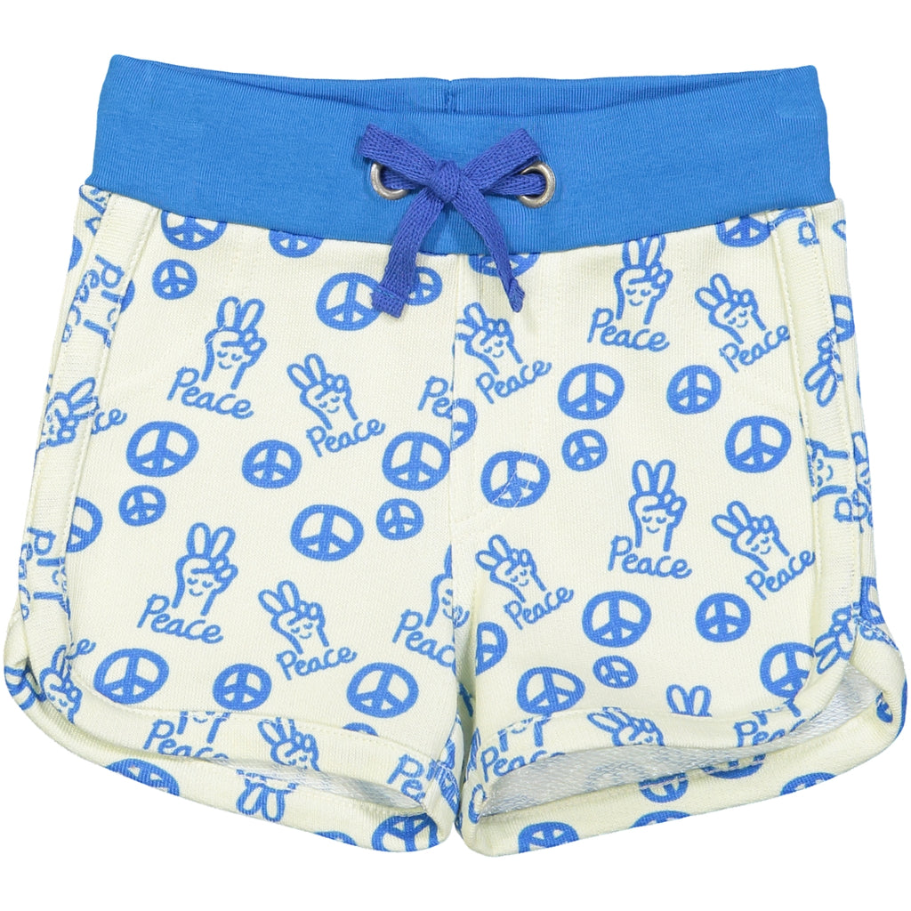 SOPORRO Tootsa Tots all over printed jersey shorts/Bright Blue