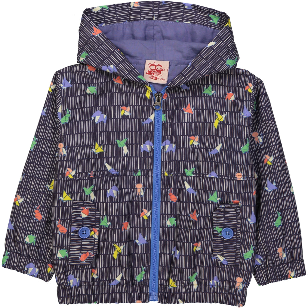 Kozi All over printed rain jacket/Ink