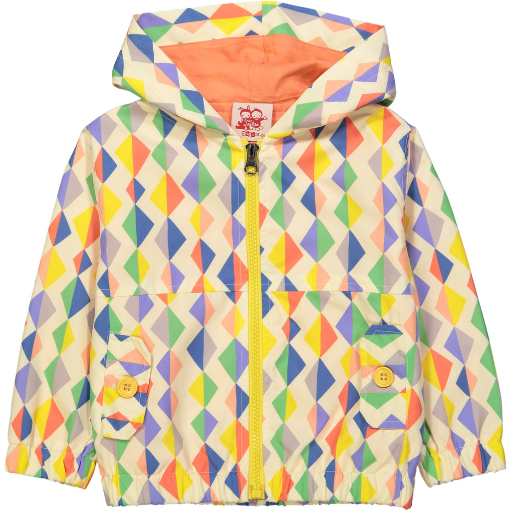 Kozi All over printed rain jacket/Multi