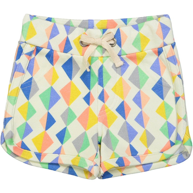 SOPORRO All over printed jersey shorts/Multi