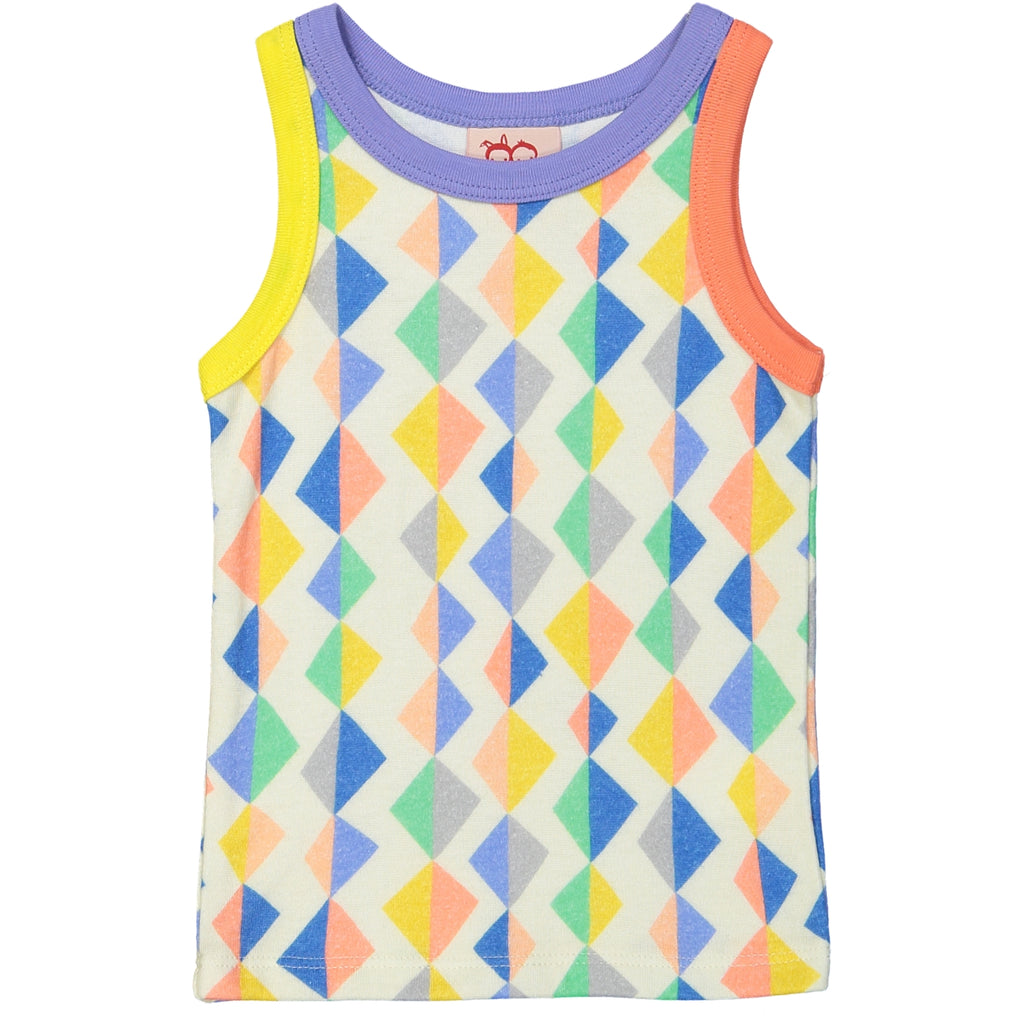 TOKOYO All over printed Tootsa Tots Vest Top/Multi