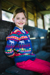 MANITOBA Baby Tots Knit Cardigan/True Navy