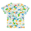 ULUWATU Tots Organic Cotton T-shirt/White (Hawaiian)