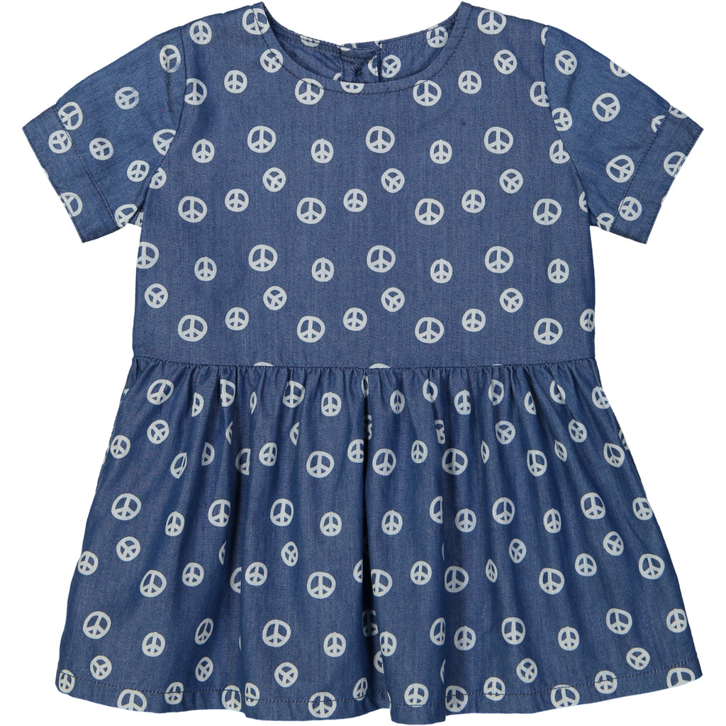 YOKOHAMA Tootsa Tots smock dress/Ink