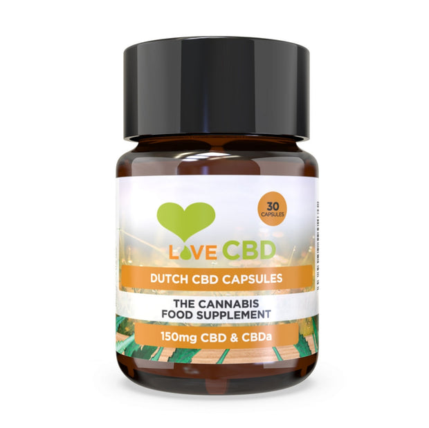 Love CBD Dutch Capsules 150mg (5mg x 30) - SilverbackCBD