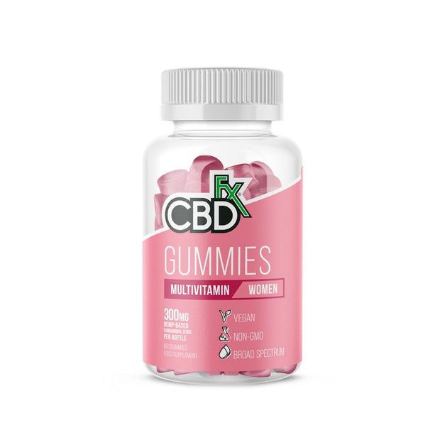 CBDfx Gummies - WOMENS Multivitamin (Jar of 60)