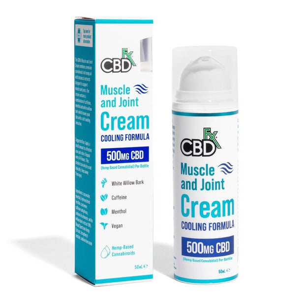 CBDfx Muscle & Joint Cream 500mg 50ml