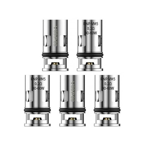Voopoo PnP-VM5 0.2ohm Mesh Coils (5 Pack)