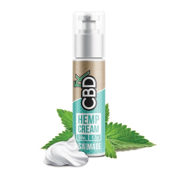 CBD FX Hemp Cream 50ml (150mg) - SilverbackCBD