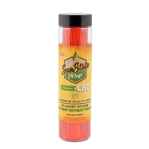 Sun State Hemp Honey Sticks 250mg  Natural