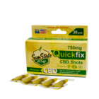 Sun State Hemp Full Spectrum Quick Fix CBD Shots 750mg