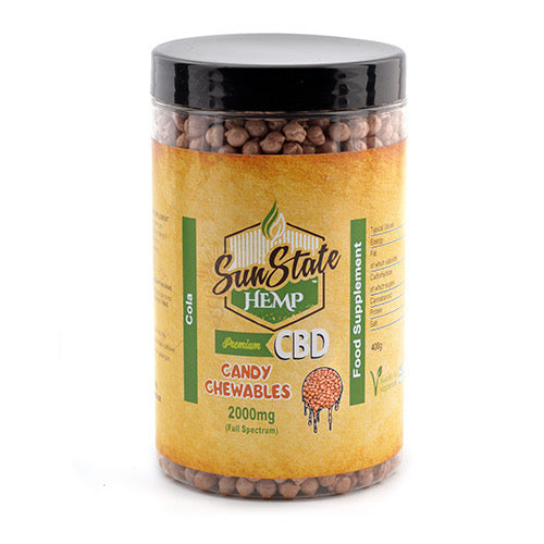Sun State Hemp Full Spectrum Candy Chewables 2000mg – Cola