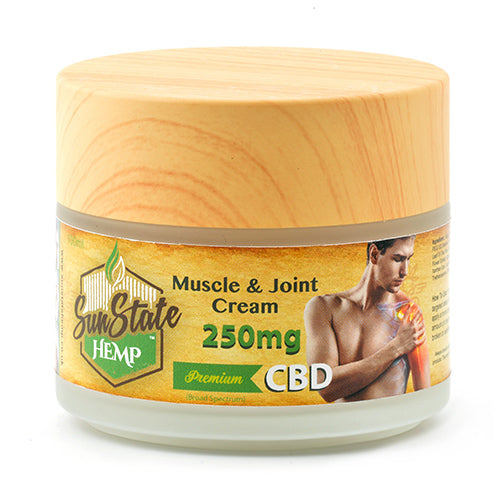 Sun State Hemp CBD Muscle & Joint Cream 250mg