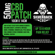 Silverback CBD 50mg Patches - SilverbackCBD