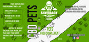 Silverback CBD Pet Oil 2000mg - 20% - SilverbackCBD