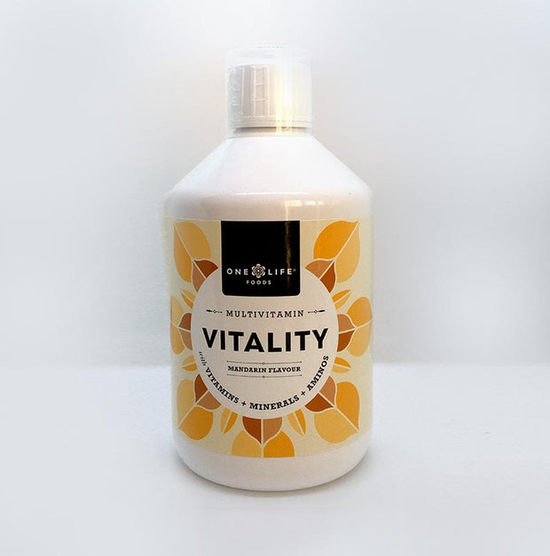 ONE LIFE FOODS VITALITY - LIQUID MULTI- VITAMIN