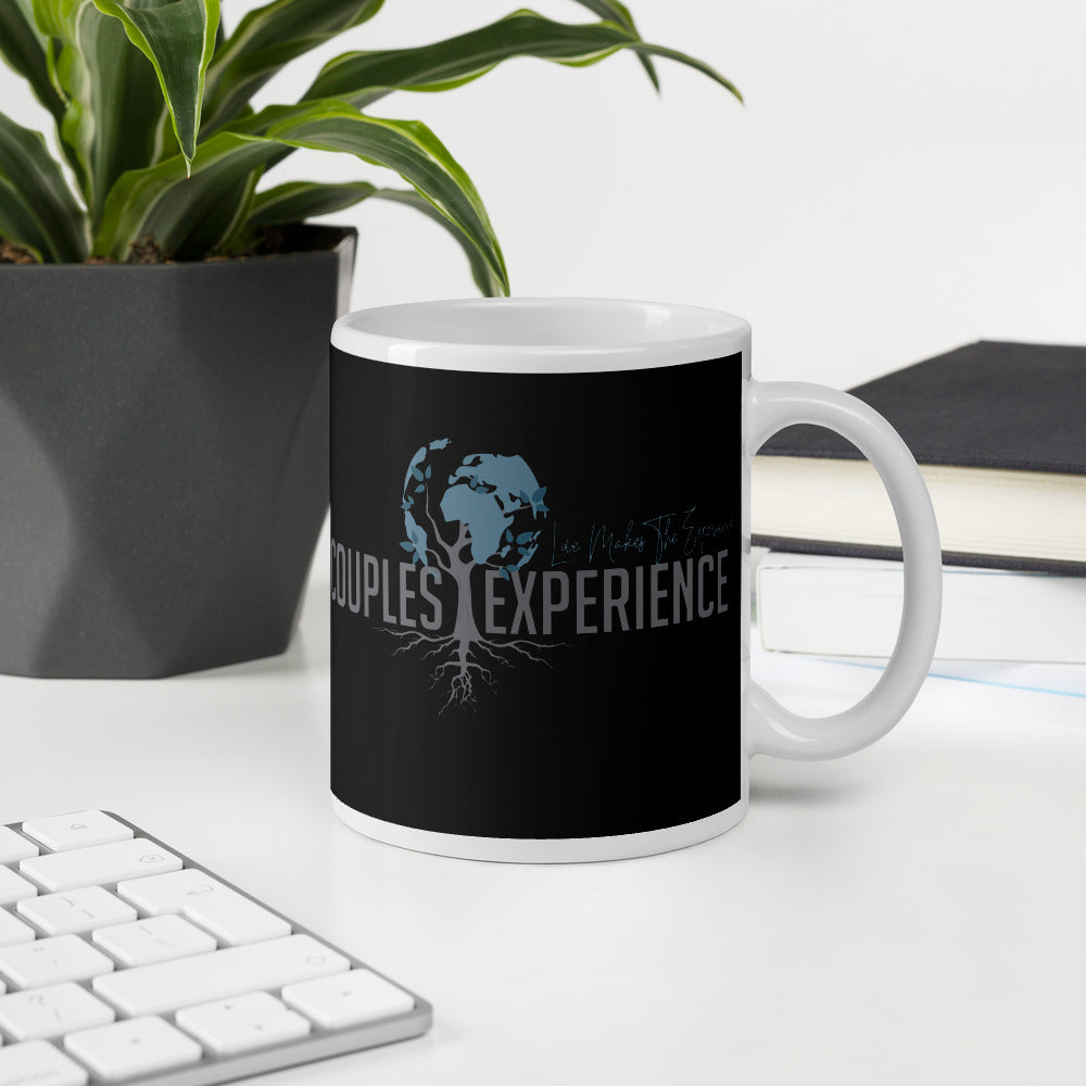 Couples Experience Black Mug