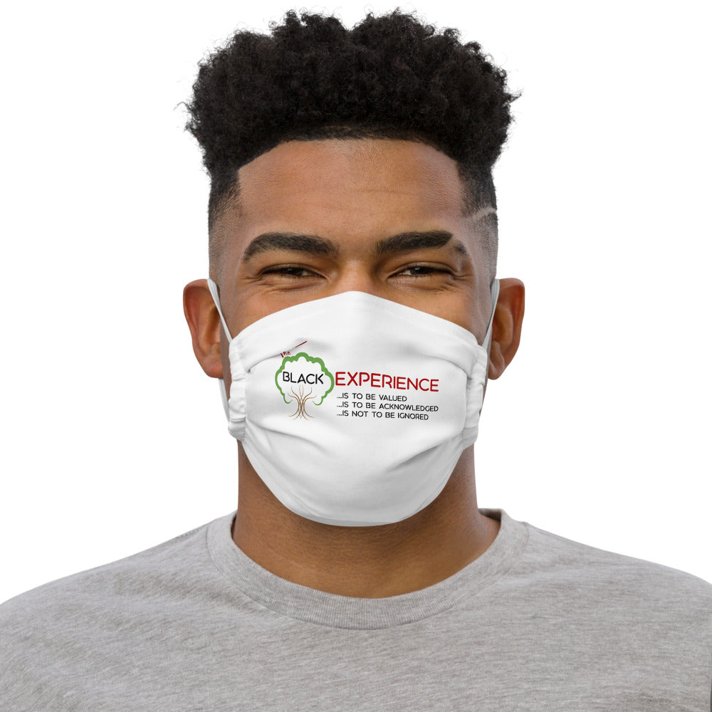 The Black Experience Face mask