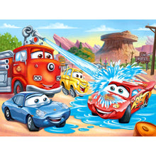 Load image into Gallery viewer, Diamond Painting - Full Round - Cartoon Car