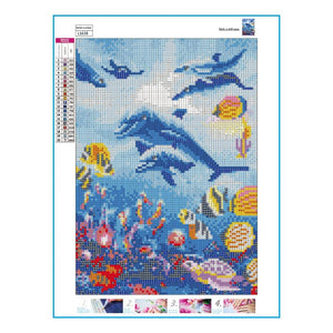 Diamond Painting - Full Round - Undersea World(40*50cm)