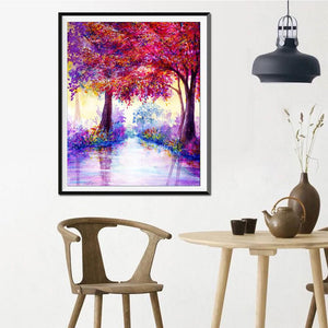Diamond Painting - Full Round - Beautiful Tree