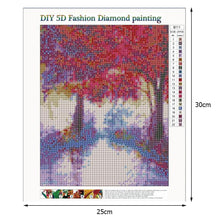 Load image into Gallery viewer, Diamond Painting - Full Round - Beautiful Tree