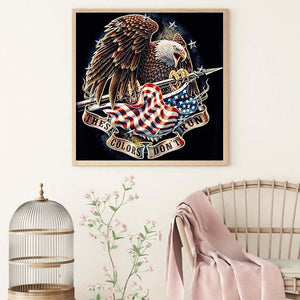 Diamond Painting - Full Round - Eagle