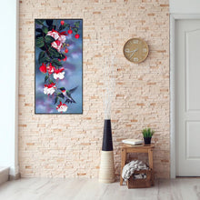 Load image into Gallery viewer, Diamond Painting - Full Round - Magpie Flower(50*25cm)